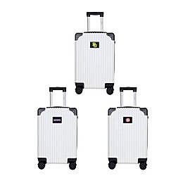 Collegiate Premium Hardside Spinner Carry On Collection Luggage in Black/White