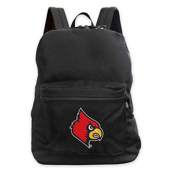 Alternate image 1 for University of Louisville 16-Inch Premium Backpack in Black