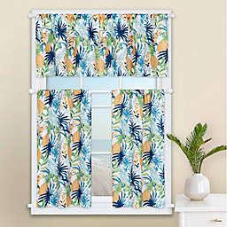 Pineapple Palm Window Valance