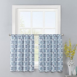 Colordrift Gallow 2-Pack Window Curtain Tiers