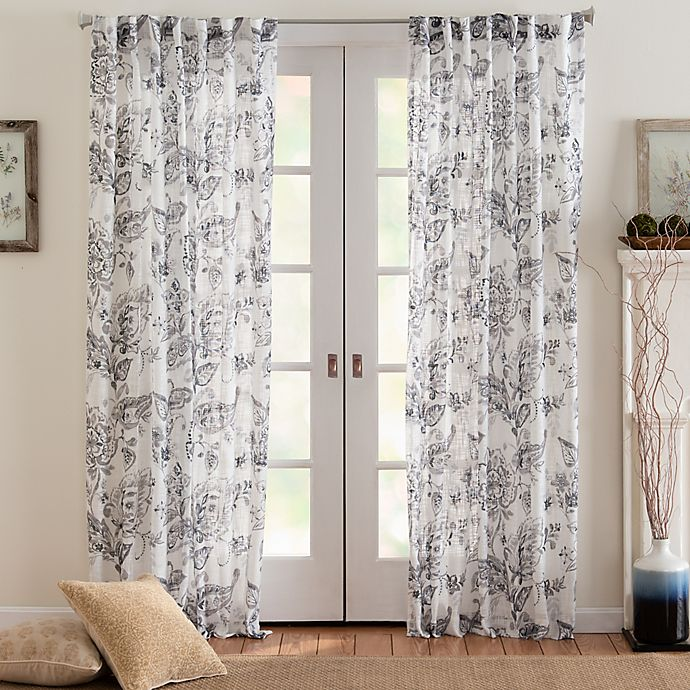 Alternate image 1 for Eastwood Mulberry Semi Sheer Light Filtering Window Curtain Panel