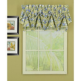 Today's Curtain Heather Sailcloth Tucked Window Valance