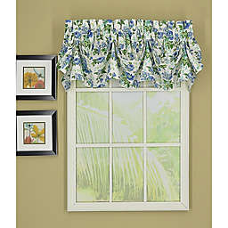 Today's Curtain Portsmouth Sailcloth Tucked Window Valance