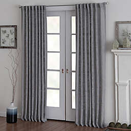 Eastwood Rod Pocket Window Curtain Panel in Grey