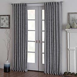 Eastwood Rod Pocket Window Curtain Panel in Grey