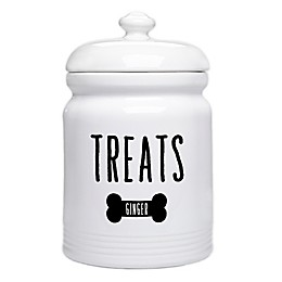 Good Dog Personalized Dog Treat Jar