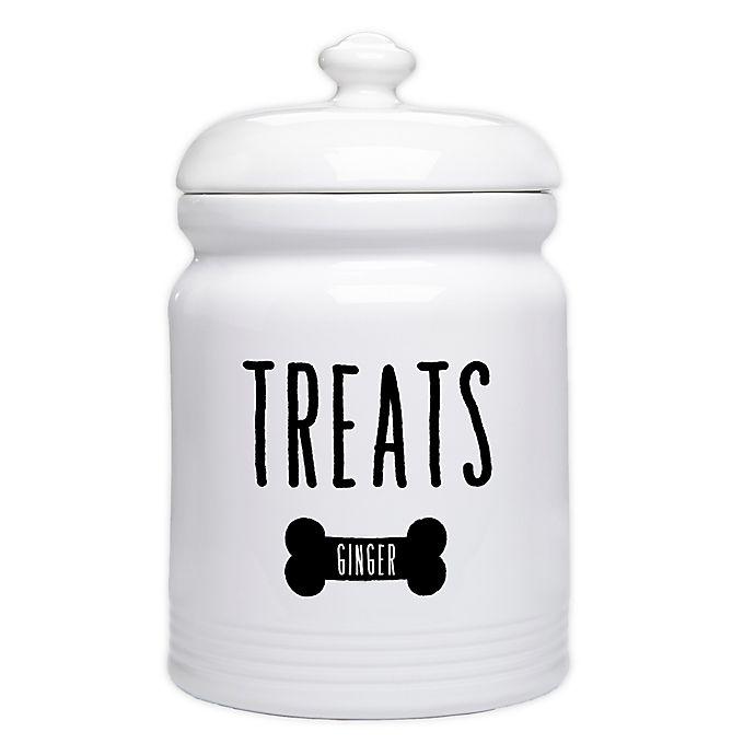 Alternate image 1 for Good Dog Personalized Dog Treat Jar
