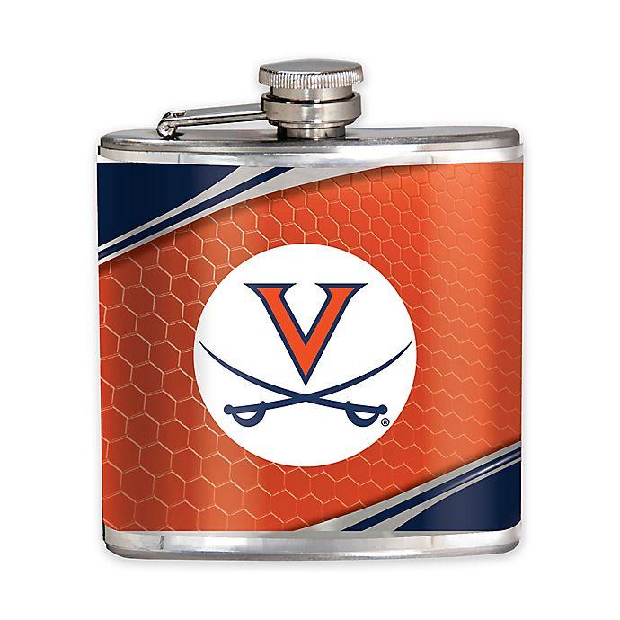 Alternate image 1 for University of Virginia 6 oz. Hip Flask