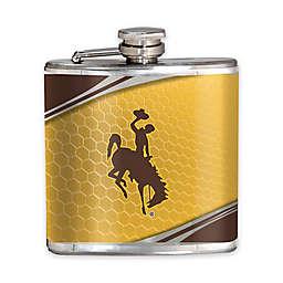 University of Wyoming 6 oz. Hip Flask