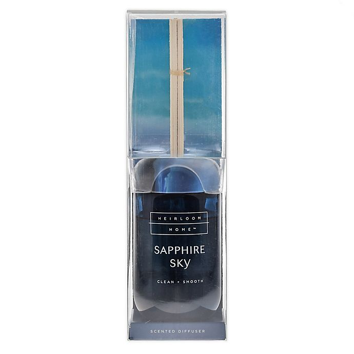 Alternate image 1 for Heirloom Home Sapphire 8.4 oz. Reed Diffuser