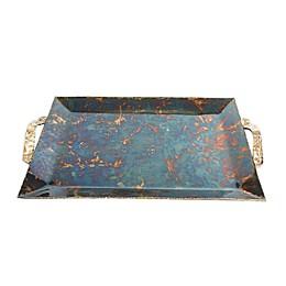 Julia Knight® Sierra 20-Inch Rectangular Serving Tray in Bronze