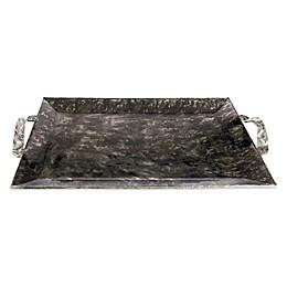 Julia Knight® Sierra 20-Inch Rectangular Serving Tray in Graphite