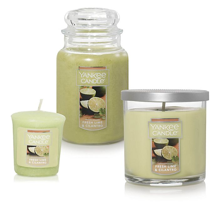 Alternate image 1 for Yankee Candle® Fresh Lime Cilantro Candle Collection