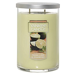 Yankee Candle® Fresh Lime Cilantro Large 2-Wick Tumbler Candle