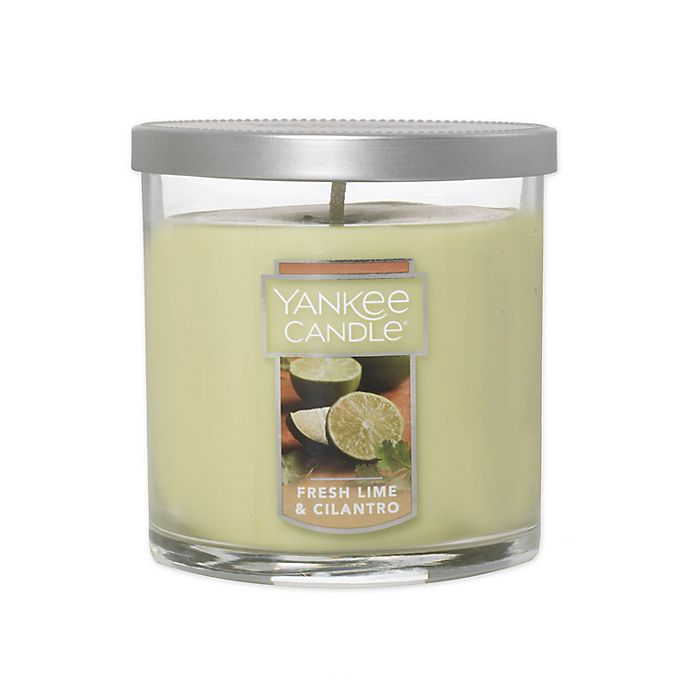 Alternate image 1 for Yankee Candle® Fresh Lime Cilantro Small 2-Wick Tumbler Candle