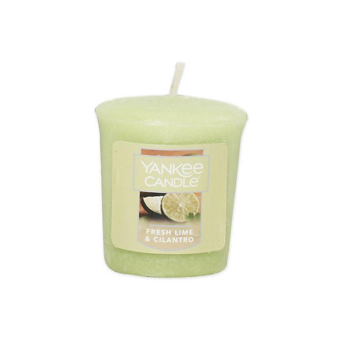 Alternate image 1 for Yankee Candle® Samplers® Fresh Lime Cilantro Votive Candle
