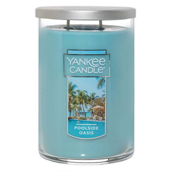 Alternate image 1 for Yankee Candle® Poolside Oasis Large 2-Wick Tumbler Candle