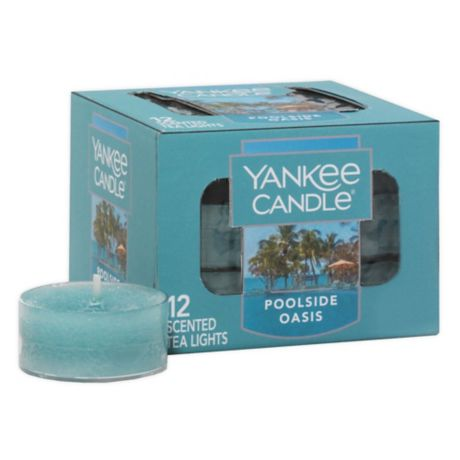 Pack of 12 Yankee Candle Vanilla Cupcake Scented Tea Light Candles