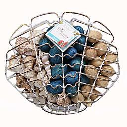 Jodhpuri™ Inc. Clam Shell Shape Wire Cage 11 oz. Potpourri