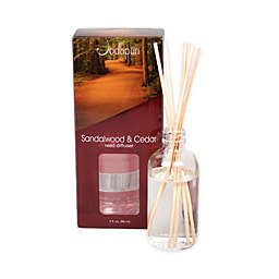 Jodhpuri™ Inc. Sandalwood and Cedar 3 oz. Mini Aroma Reed Diffuser