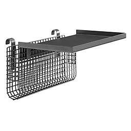 Forest Gate™ Universal Metal Bunk Bed Shelf in Gunmetal