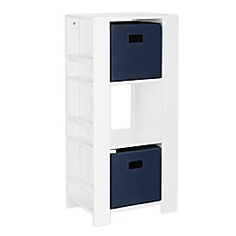 RiverRidge Home® Book Nook Kids Cubby Storage Tower with Bins