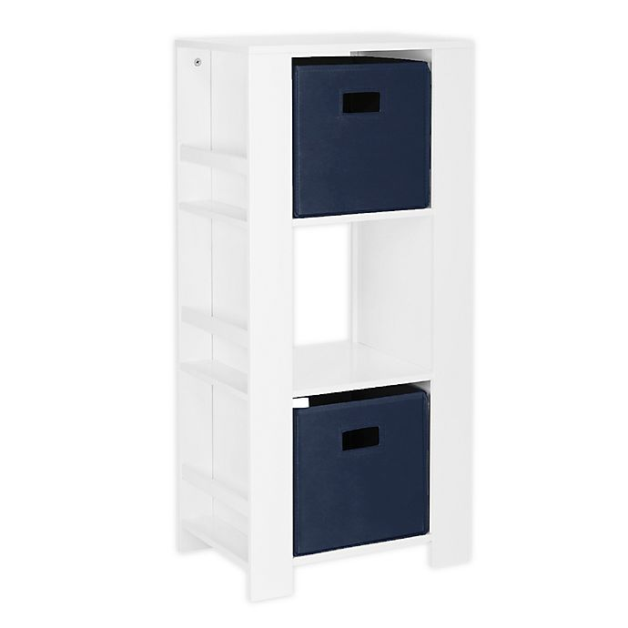 Alternate image 1 for RiverRidge® Home Book Nook Kids Cubby Storage Tower with Bins