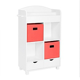 RiverRidge Home® Book Nook Kids Cubby Storage Cabinet with Bins