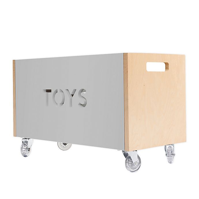 Alternate image 1 for Nico & Yeye Rolling Toy Box Chest