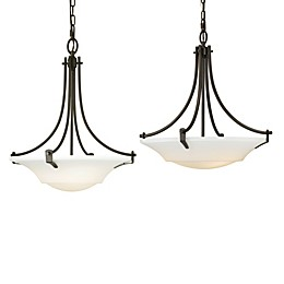 Sea Gull Collection by Generation Lighting Barrington 3-Light Chandelier in Oil Bronze