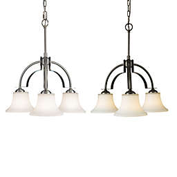 Sea Gull Collection by Generation Lighting Barrington 3-Light Kitchen Chandelier