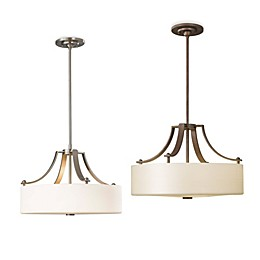 Sea Gull Collection by Generation Lighting Sunset Drive 3-Light Uplight Chandelier