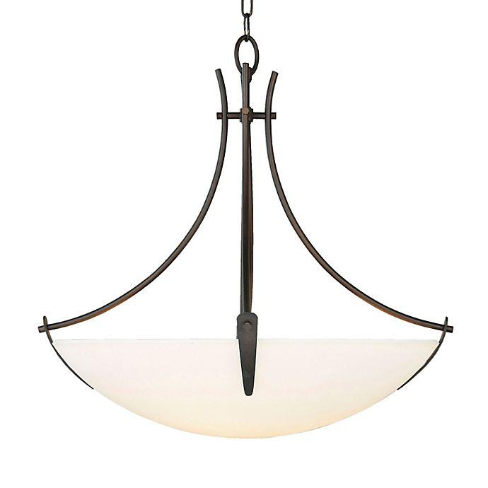 Alternate image 1 for Feiss® Boulevard 3-Light Uplight Chandelier