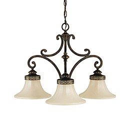Sea Gull Collection by Generation Lighting Drawing Room 3-Light Kitchen Chandelier