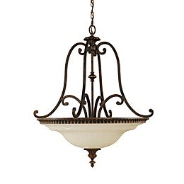 Sea Gull Collection by Generation Lighting Drawing Room 4-Light Uplight Chandelier
