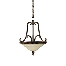 Sea Gull Collection by Generation Lighting Drawing Room 2-Light Bowl Pendant Chandelier