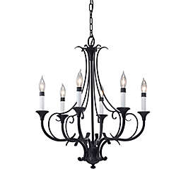 Feiss® Peyton 6-Light Single Tier Chandelier