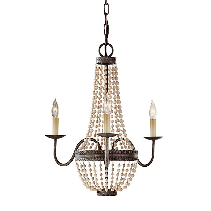Alternate image 1 for Feiss® Charlotte 3-Light Chandelier