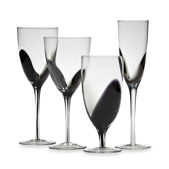 Alternate image 1 for Mikasa® Kya Smoke Wine Glass Collection