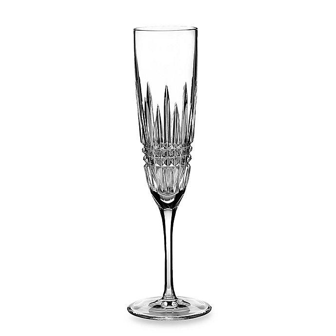 Alternate image 1 for Waterford® Lismore Diamond Toasting Flutes (Set of 2)