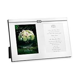 Vera Wang Wedgwood® VeraInfinity Double Invitation Frame