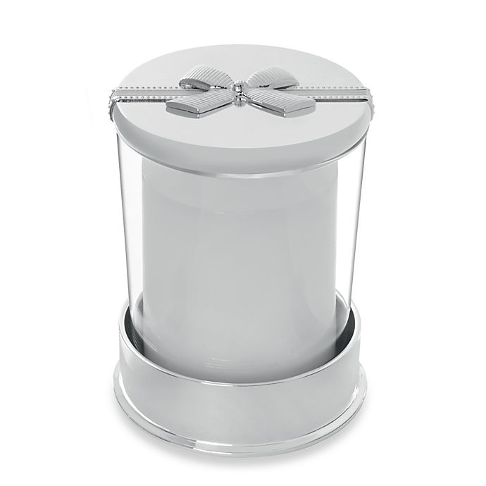 Alternate image 1 for Vera Wang Wedgwood® Grosgrain Covered Candle on Base