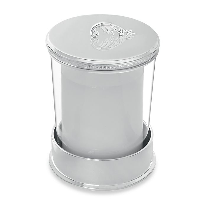 Alternate image 1 for Vera Wang Wedgwood® Vera Lace Bouquet Covered Candle