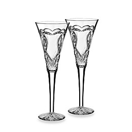 Waterford® Wedding Collection Toasting Flutes (Set of 2)