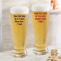 Write Your Own Custom Printed 20 oz. Pilsner Glass