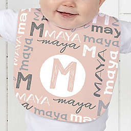 Youthful Name For Baby Personalized Baby Bib Collection