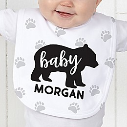 Baby Animals Personalized Baby Bib Collection