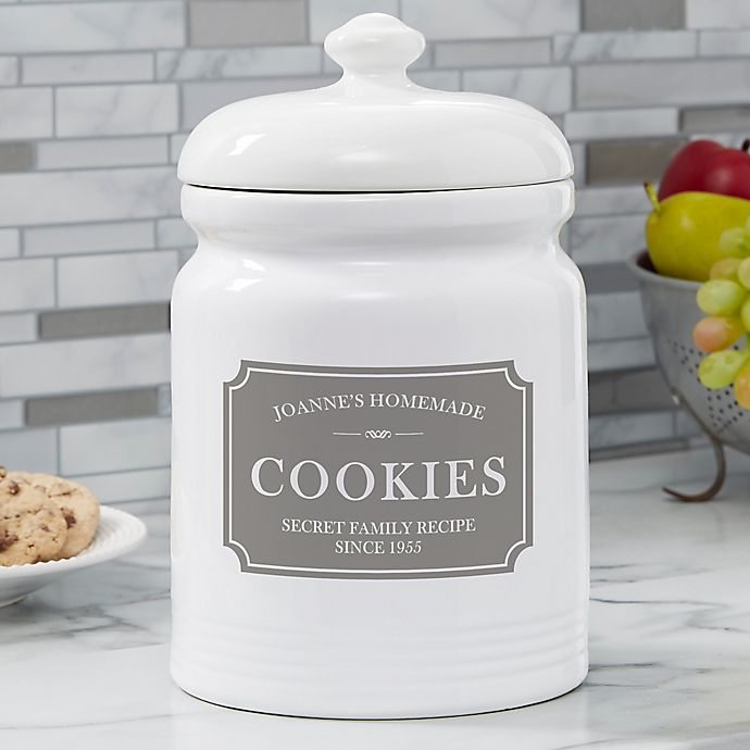 Family Market Personalized Cookie Jar Bed Bath Beyond