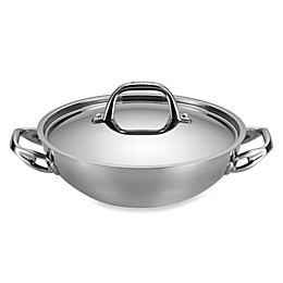 Anolon® Tri-Ply Clad Stainless Steel 3 qt. Covered Braiser