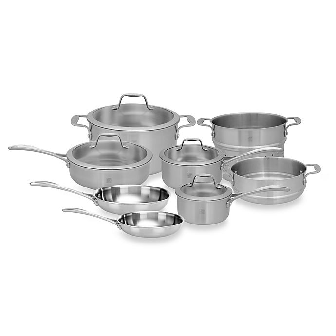 Alternate image 1 for Zwilling J.A. Henckels Spirit 12-Piece Stainless Steel Cookware Set